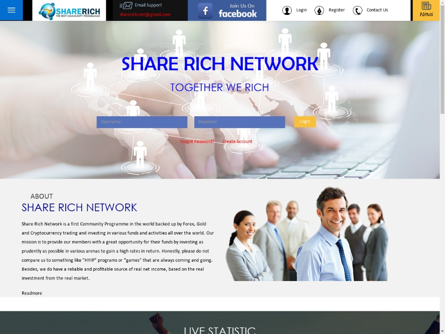 Share Rich Network